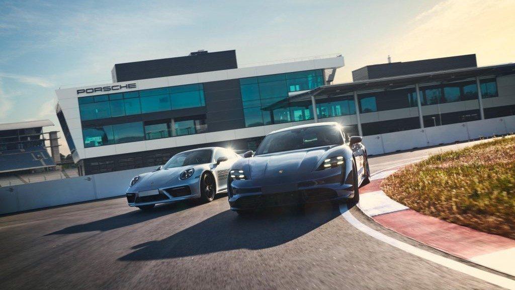 Leihwagen der Luxusautomarke Porsche