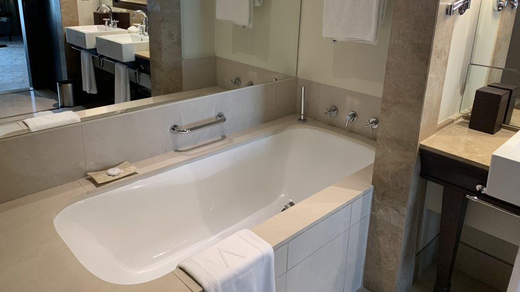 Salle de bain hôtel de luxe à Dubaï