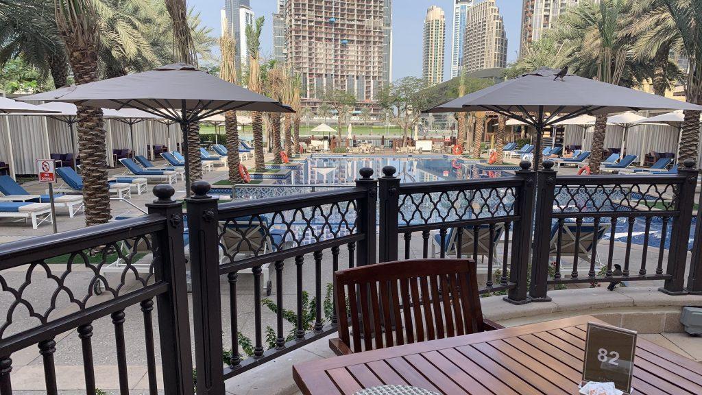 Petit-déjeuner - Hôtel Palace Downtown à Dubaï