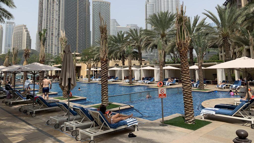 Piscine - Hôtel Dubaï