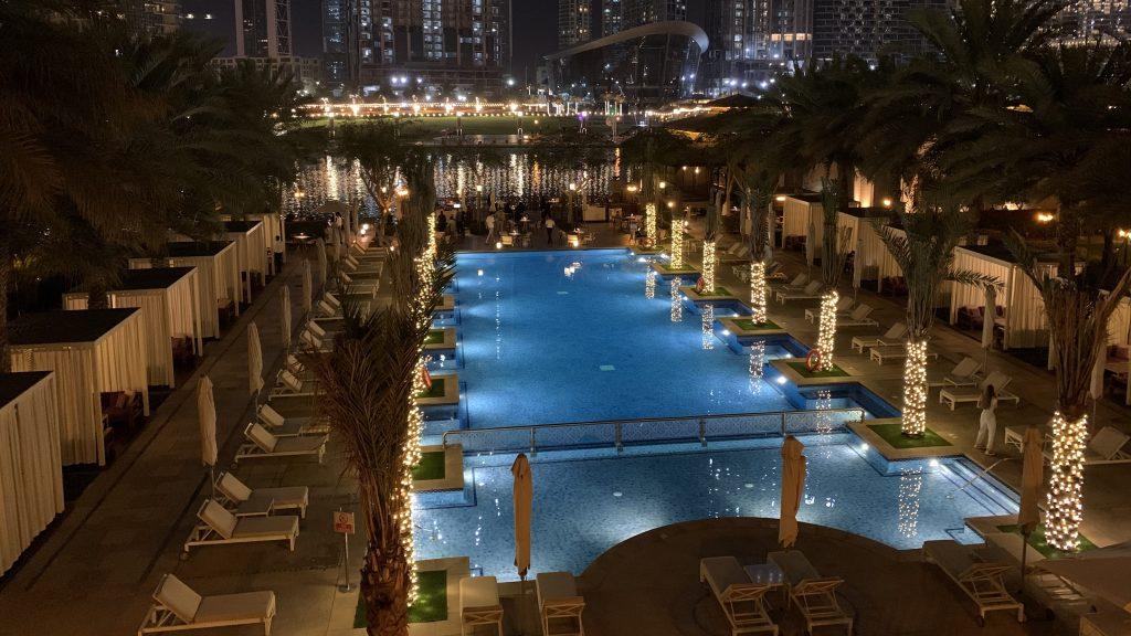 Piscine - Hôtel Palace Downtown à Dubaï