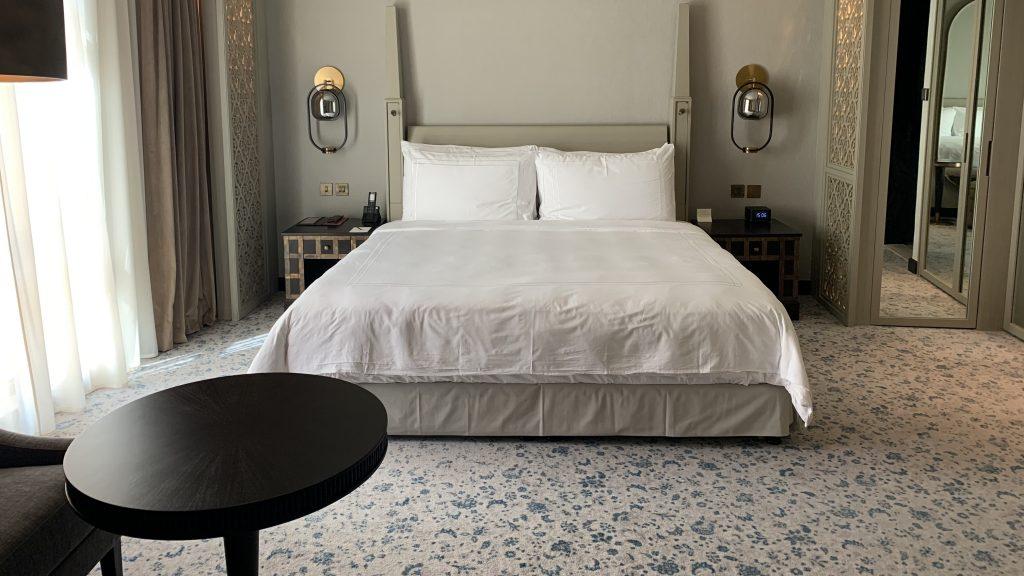 Lit hôtel de luxe à Dubaï
