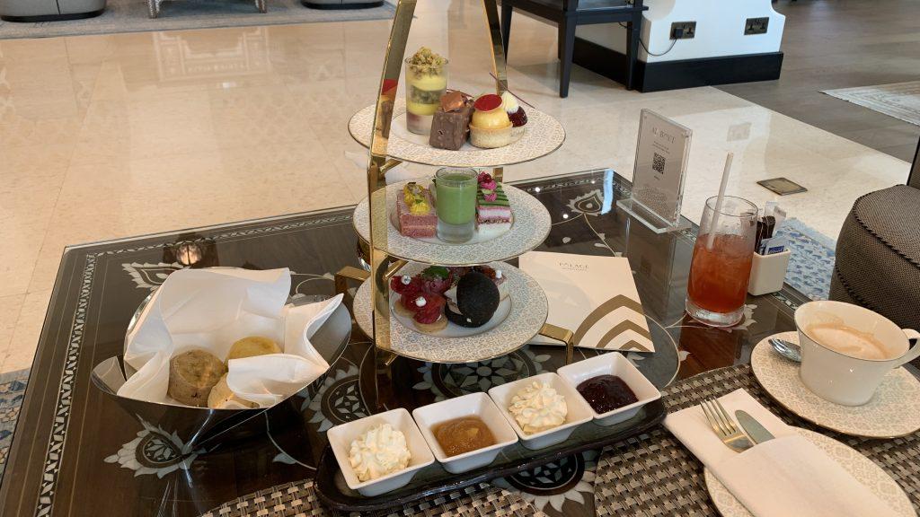 Thé de l'après-midi - Hôtel Palace Downtown à Dubaï
