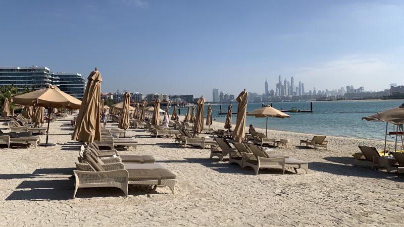 Waldorf Astoria Dubai The Palm Jumeirah Strand 2