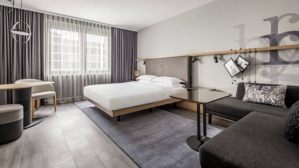 Deluxe Zimmer Marriott FRA