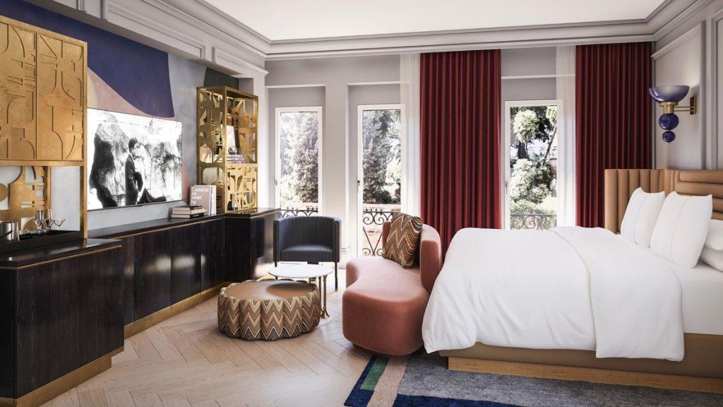 W Rom, Marriott Hotel Zimmer
