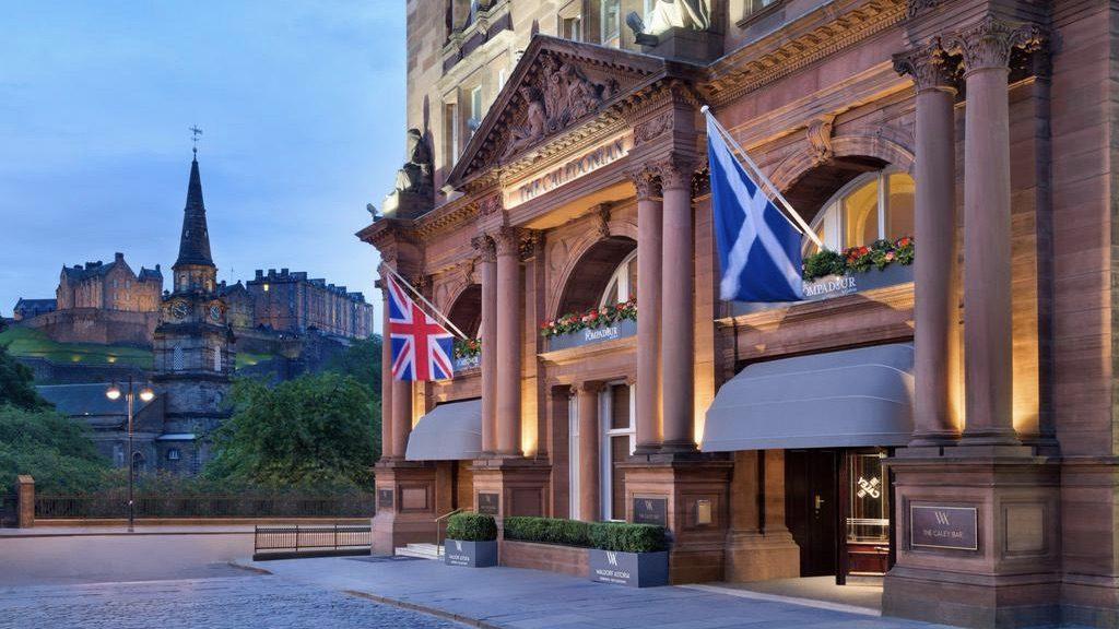 Waldorf Astoria Hotel Edinburgh