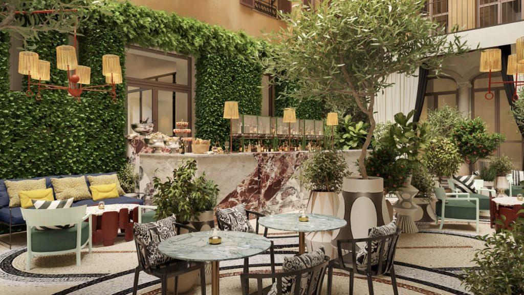 W Rom, Marriott Hotel, Restaurant