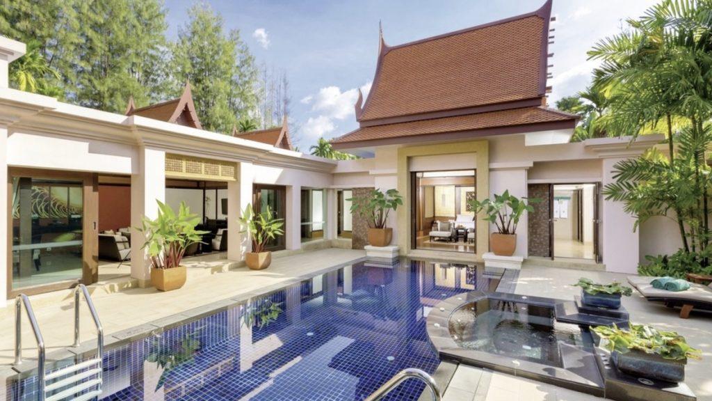 Banyan Tree Phuket Deluxe Poolvilla mit zwei Schlafzimmern