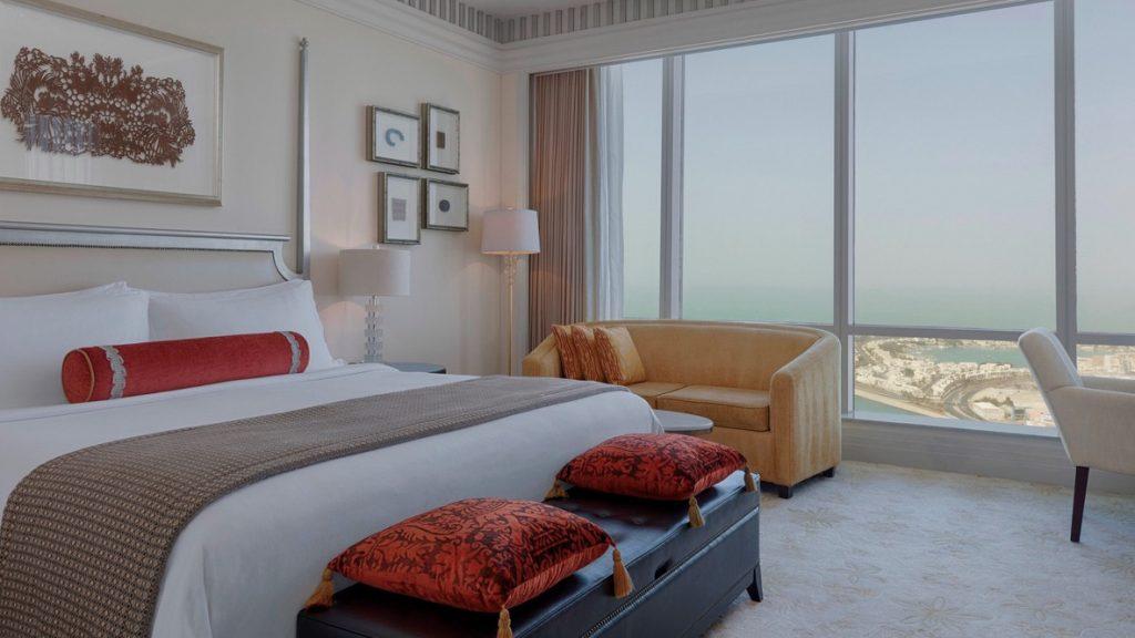 St. Regis Abu Dhabi Superior Zimmer mit Meerblick
