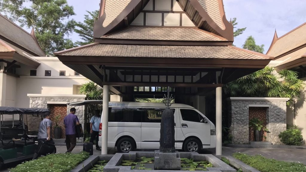 Banyan Tree Phuket DoublePool Villa Rezeption