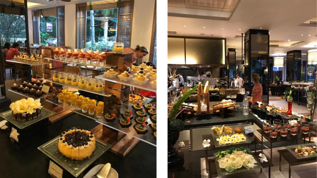 Banyan Tree Phuket Restaurant Buffet
