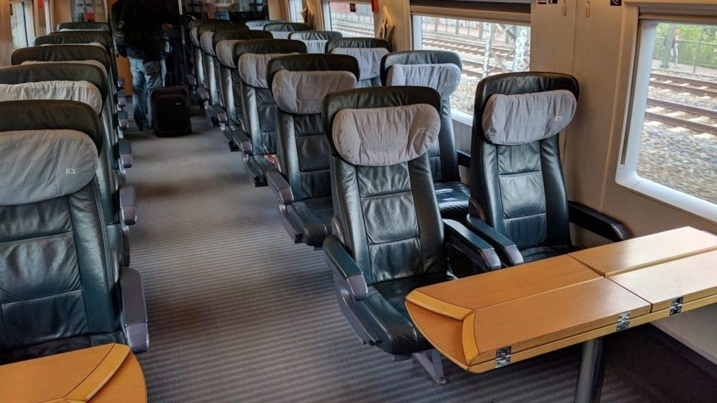 DB Lounge Zugang mit 1. Klasse-Ticket