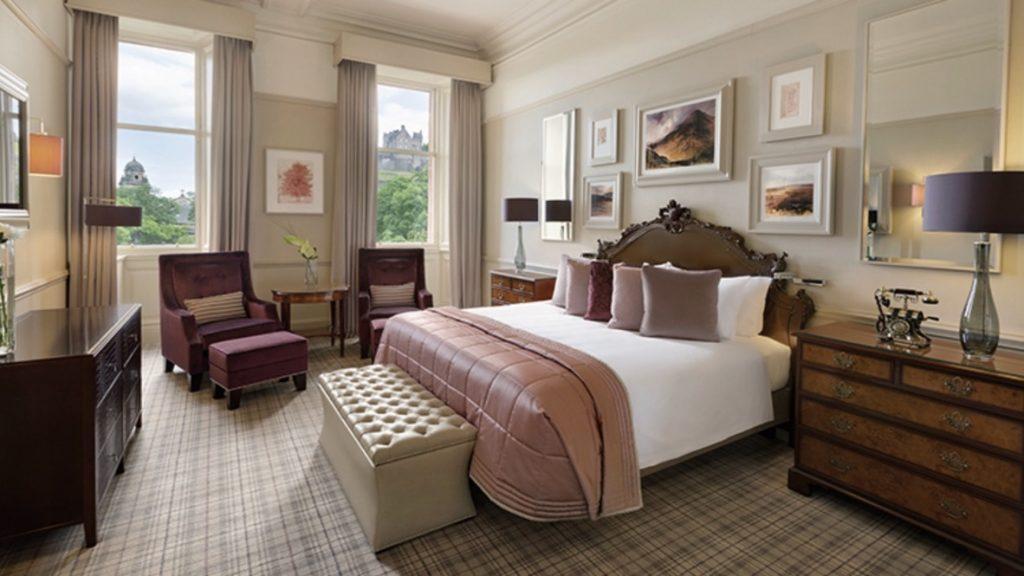 Waldorf Astoria Hotel Edinburgh Zimmer