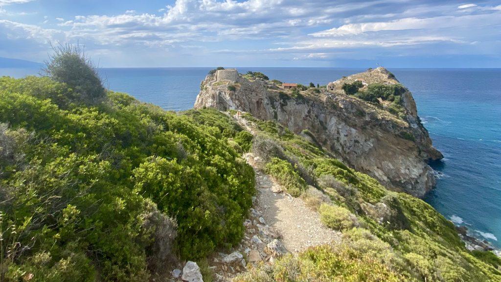 Kastro Skiathos Griechenland