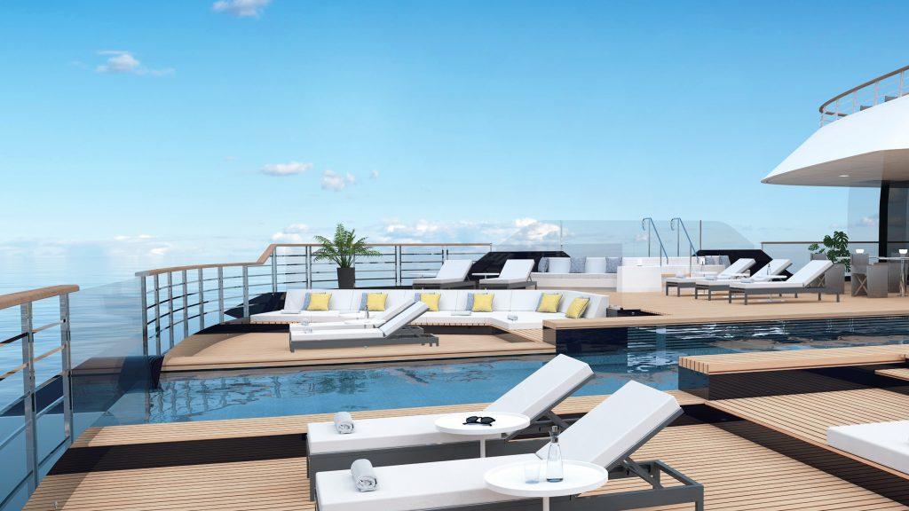 Ritz-Carlton Yacht Collection Evrima Main Pool Deck