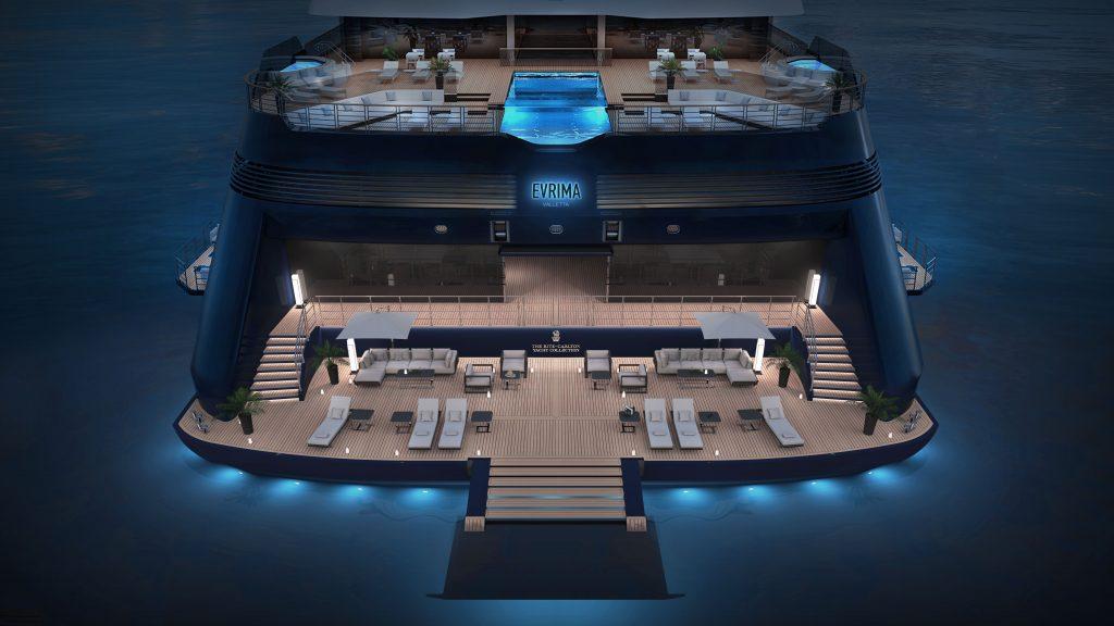 Ritz-Carlton Yacht Collection Marina-Plattform