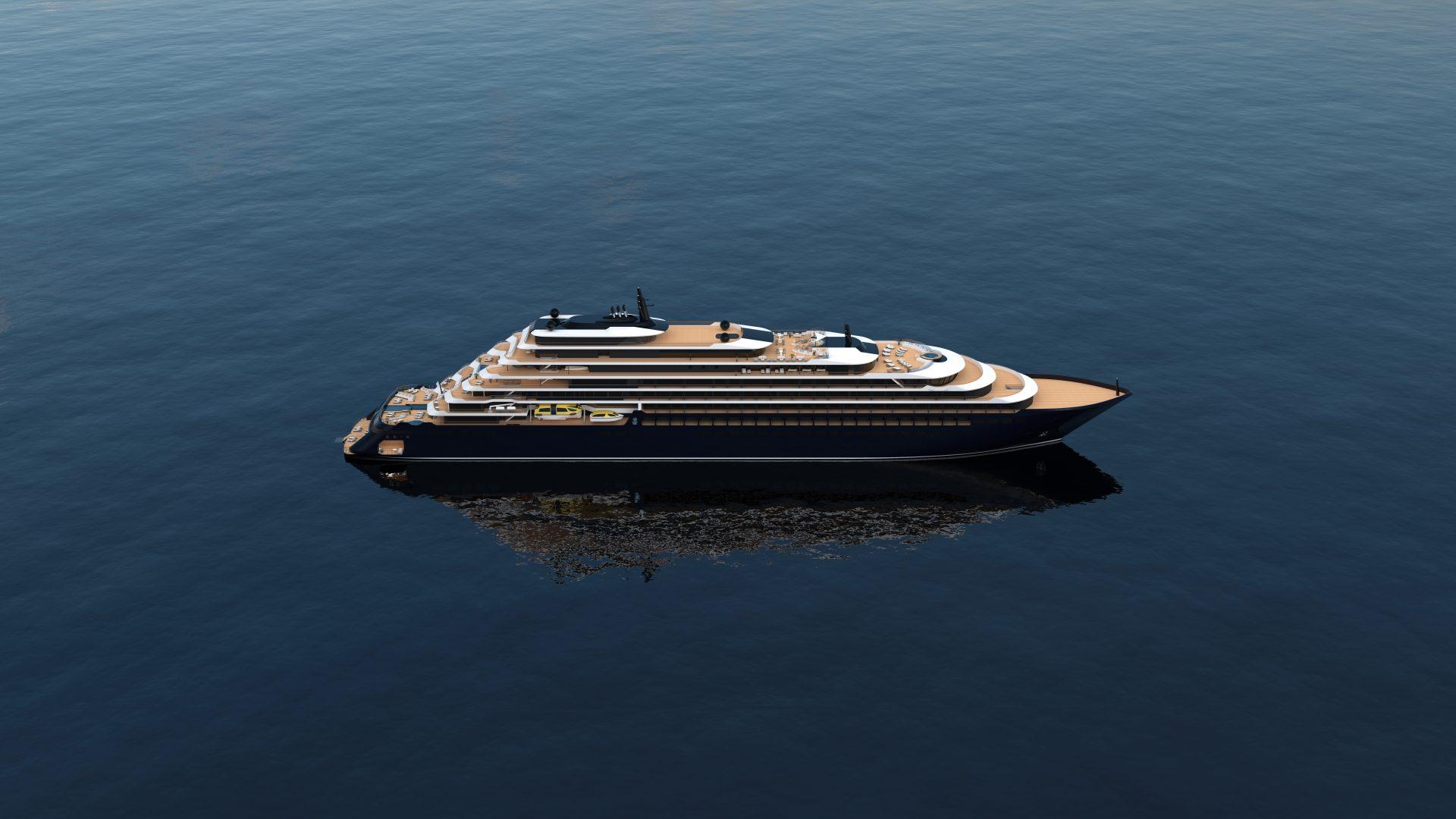 """Die Ritz-Carlton Yacht """"Yacht Evrima"""""""