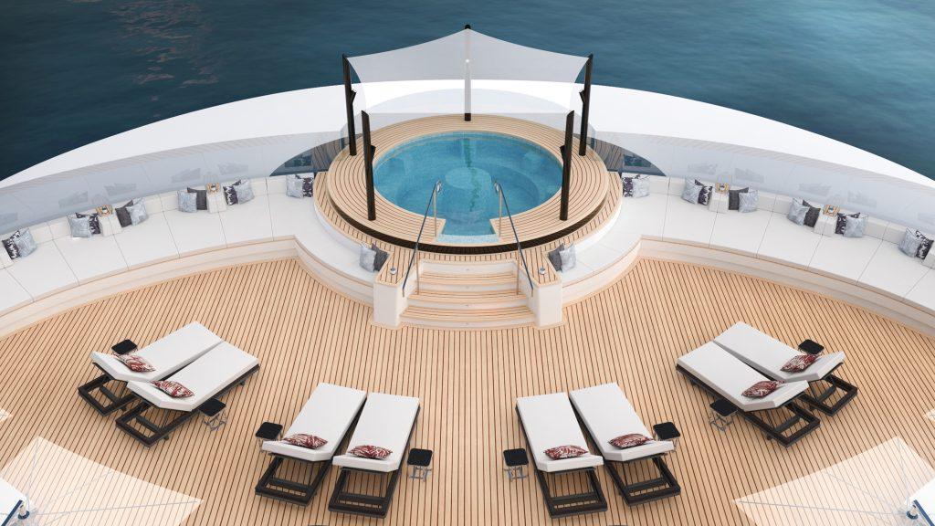 Ritz-Carlton Yacht Collection Evrima Spa Pool