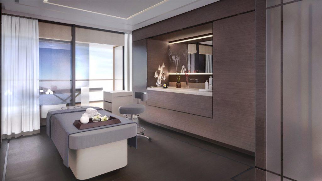 Ritz-Carlton Yacht Collection Evrima Spa Treatment Raum