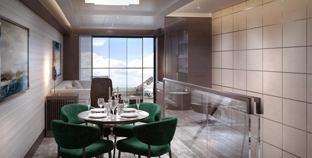 Ritz-Carlton Yacht Collection Loft Suite Upper