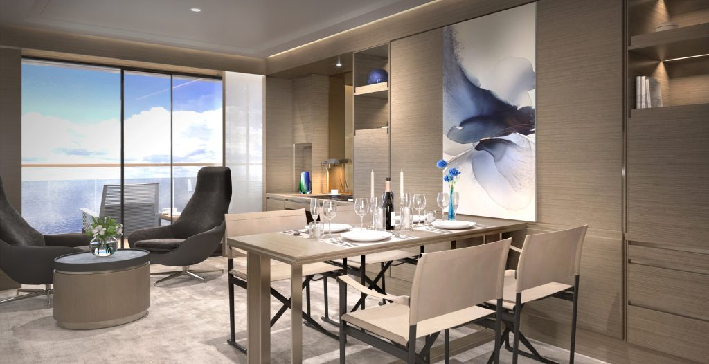 Ritz-Carlton Yacht Collection Terrace Suite