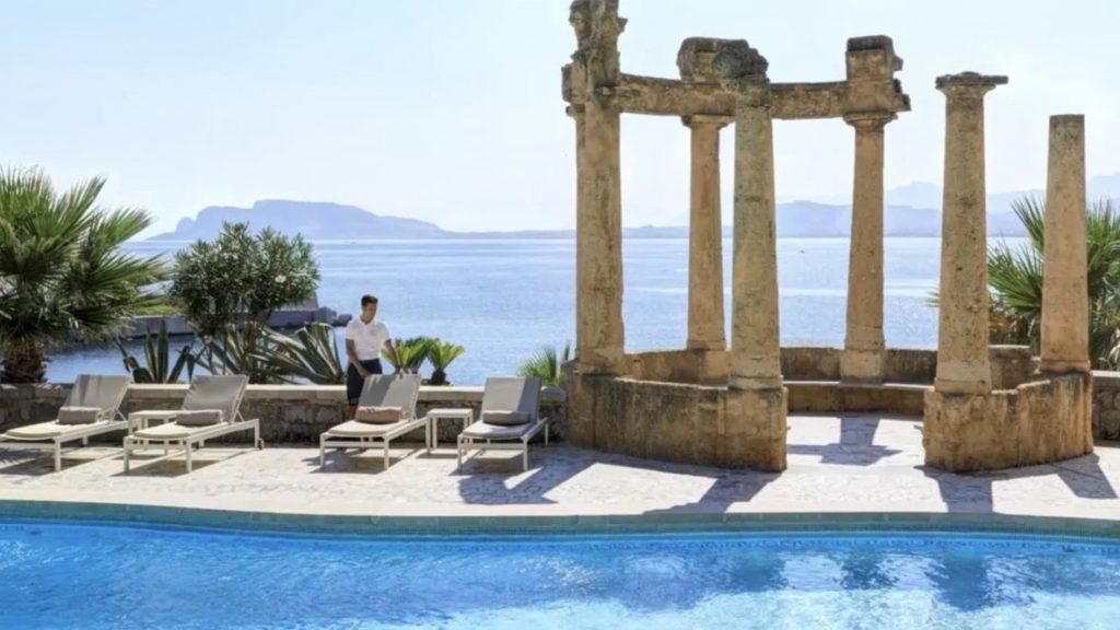 Rocco Forte Villa Igiea Palermo Pool