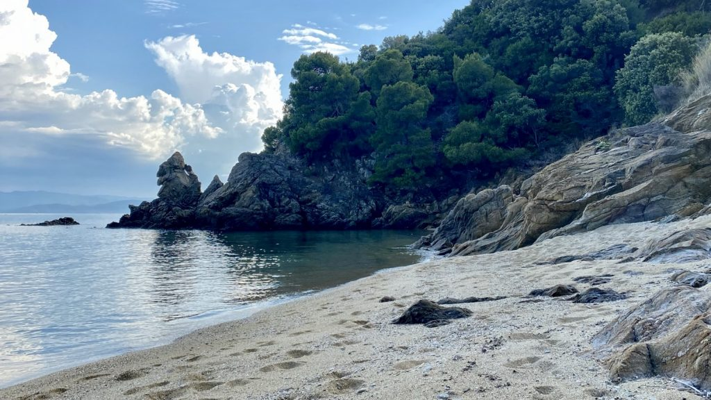 Skiathos Strand Griechenland