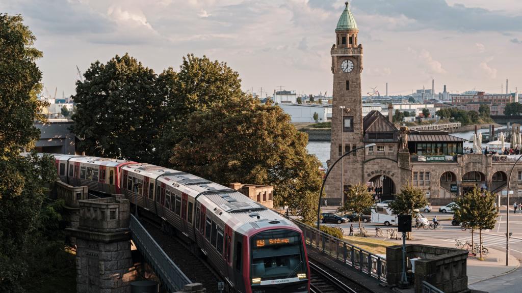 Blick auf St. Pauli, Hamburg