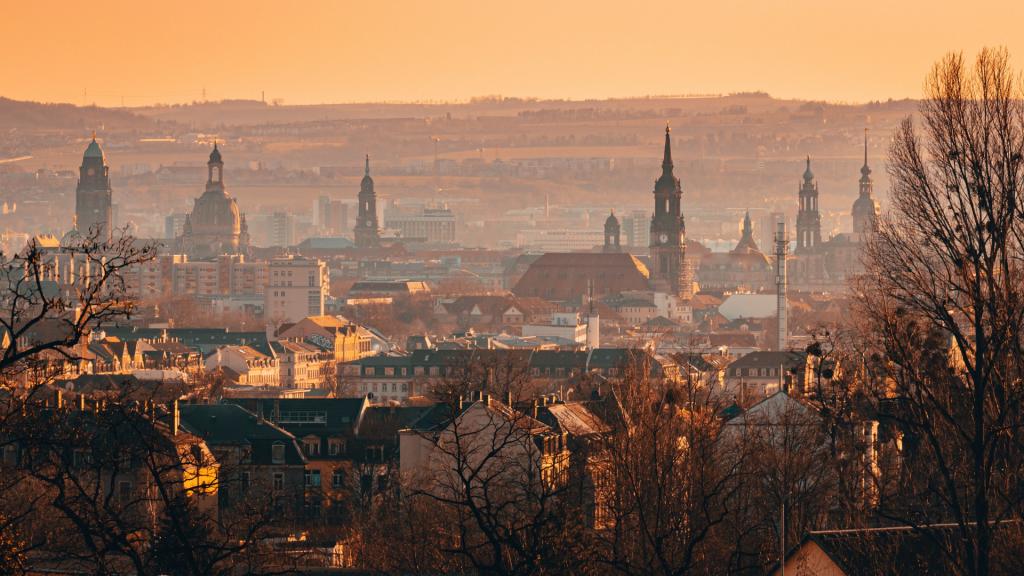 Blick Ueber Dresden