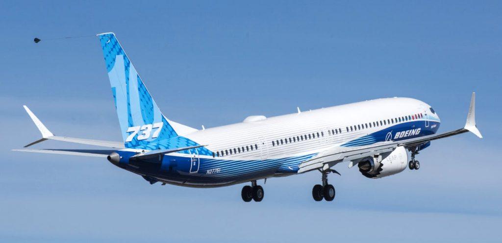 Erstflug Boeing 737 Max 10 Start