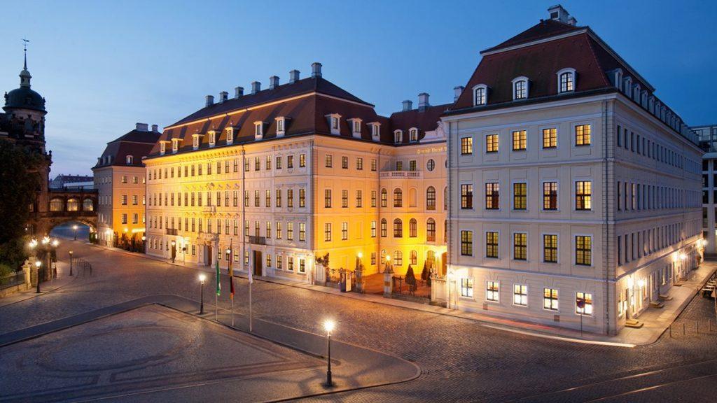 Hotel Taschenbergpalais Kempinski Dresden Auenansicht