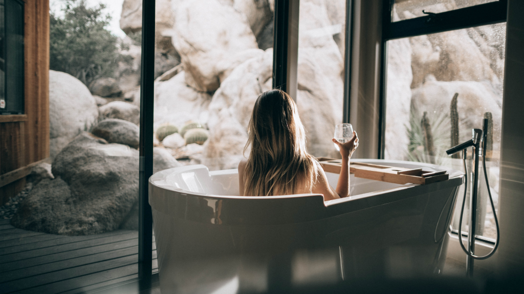 Romantikhotel Freistehende Badewanne