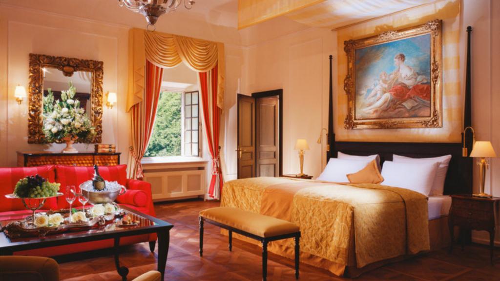 Schloss Fuschl Salzburg Sissi Suite