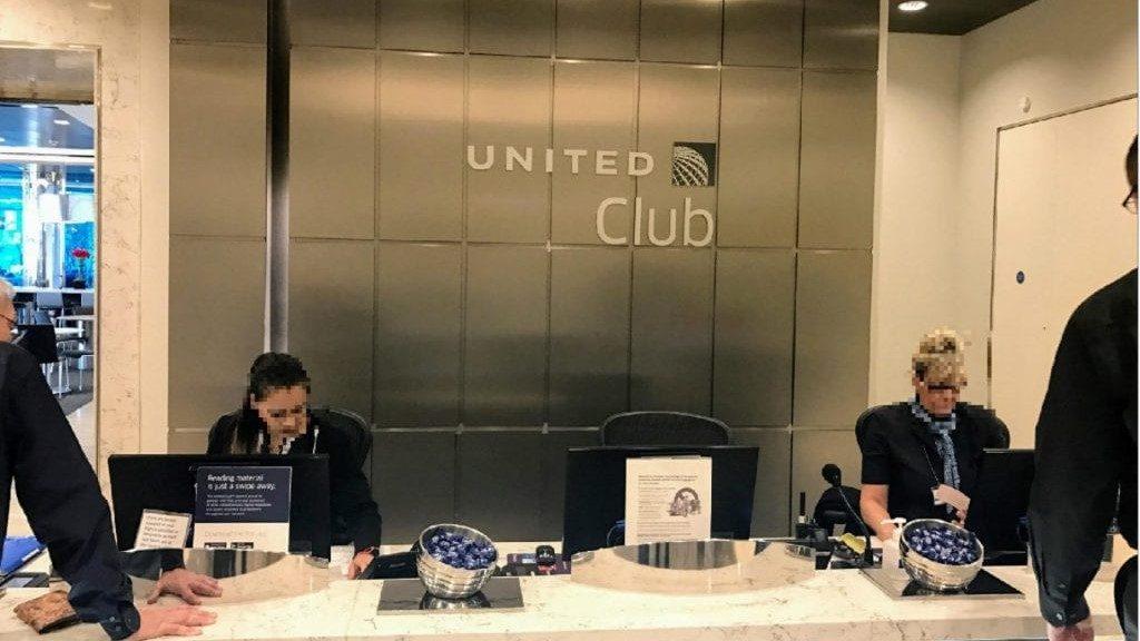 United Club London Heathrow Terminal 2b Eingangsbereich 2 1024x765