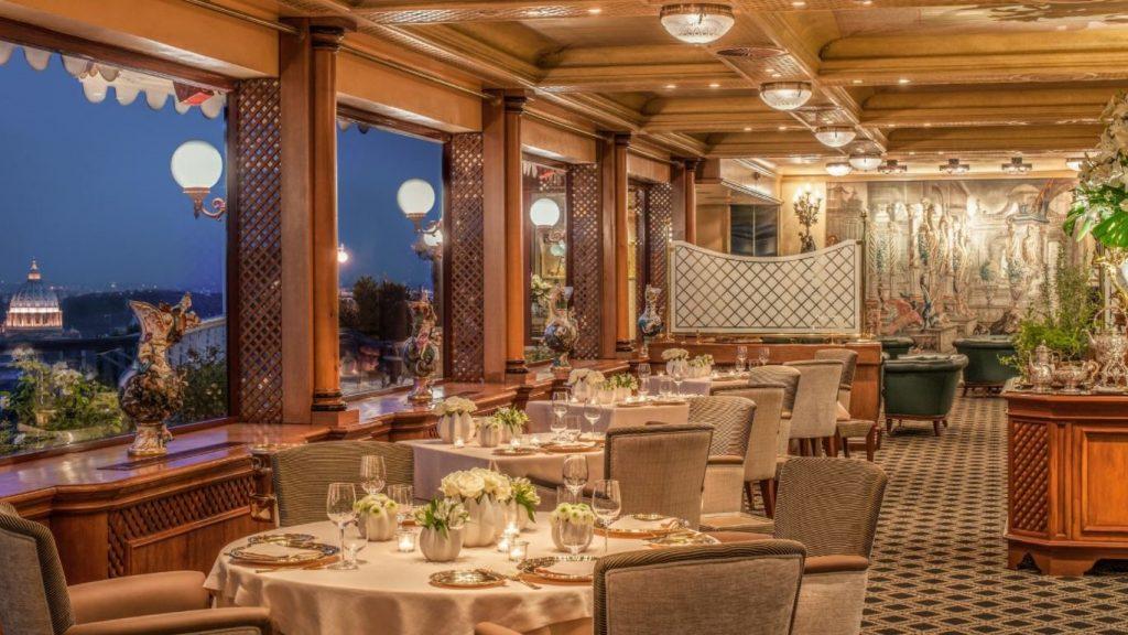 Waldorf Astoria Hotel Rom Restaurant