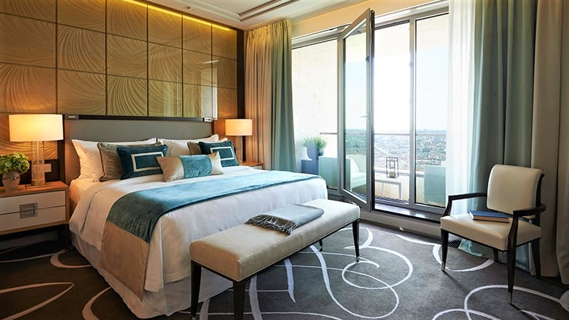 Waldorf Astoria Hotel Berlin Zimmer