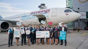 Eurowings Discover Erstflug