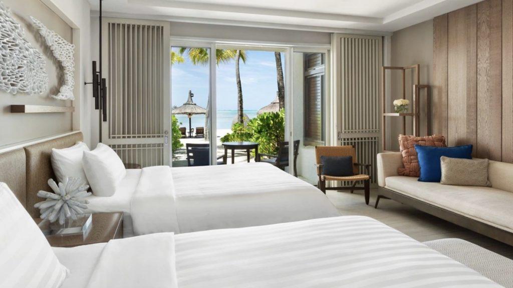Shangri La Mauritius, Deluxe Coral Beach Zimmer, reisetopia Hotels