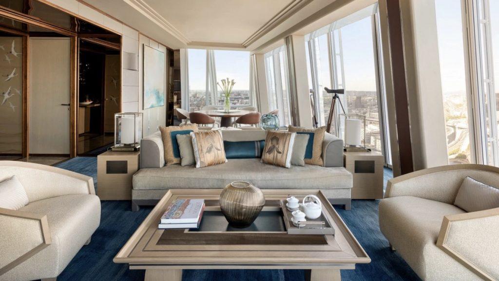 Shangri-La The Shard London, Westminster Suite, reisetopia Hotels