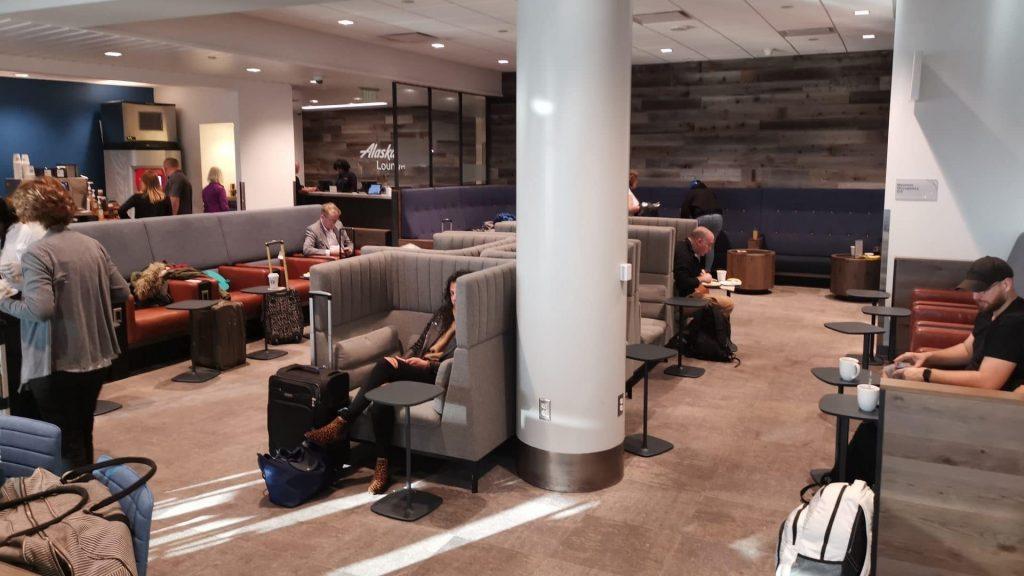 Alaska Lounge LAX Los Angeles 7 Cropped