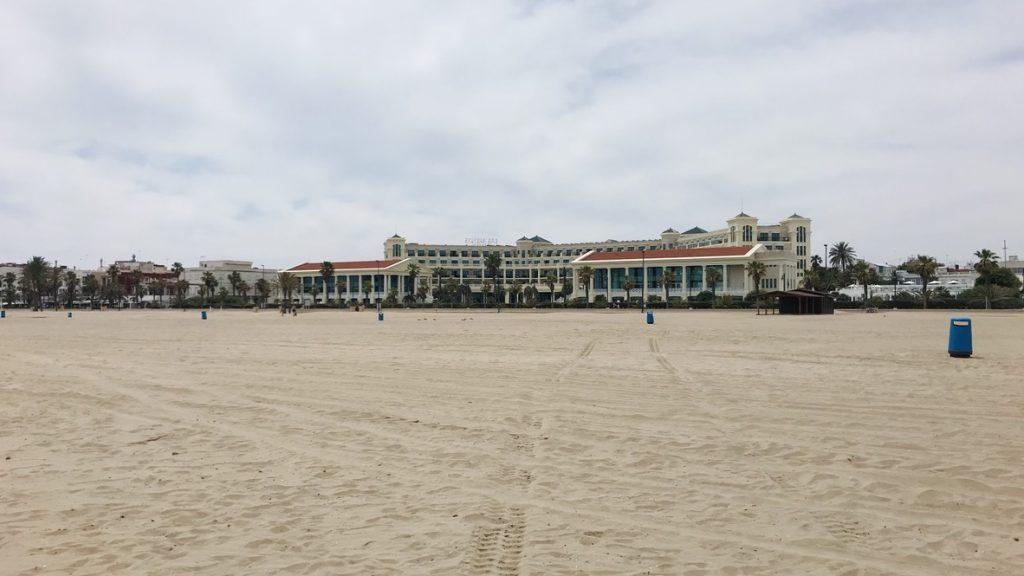 Balneario Las Arenas Valenica Strand