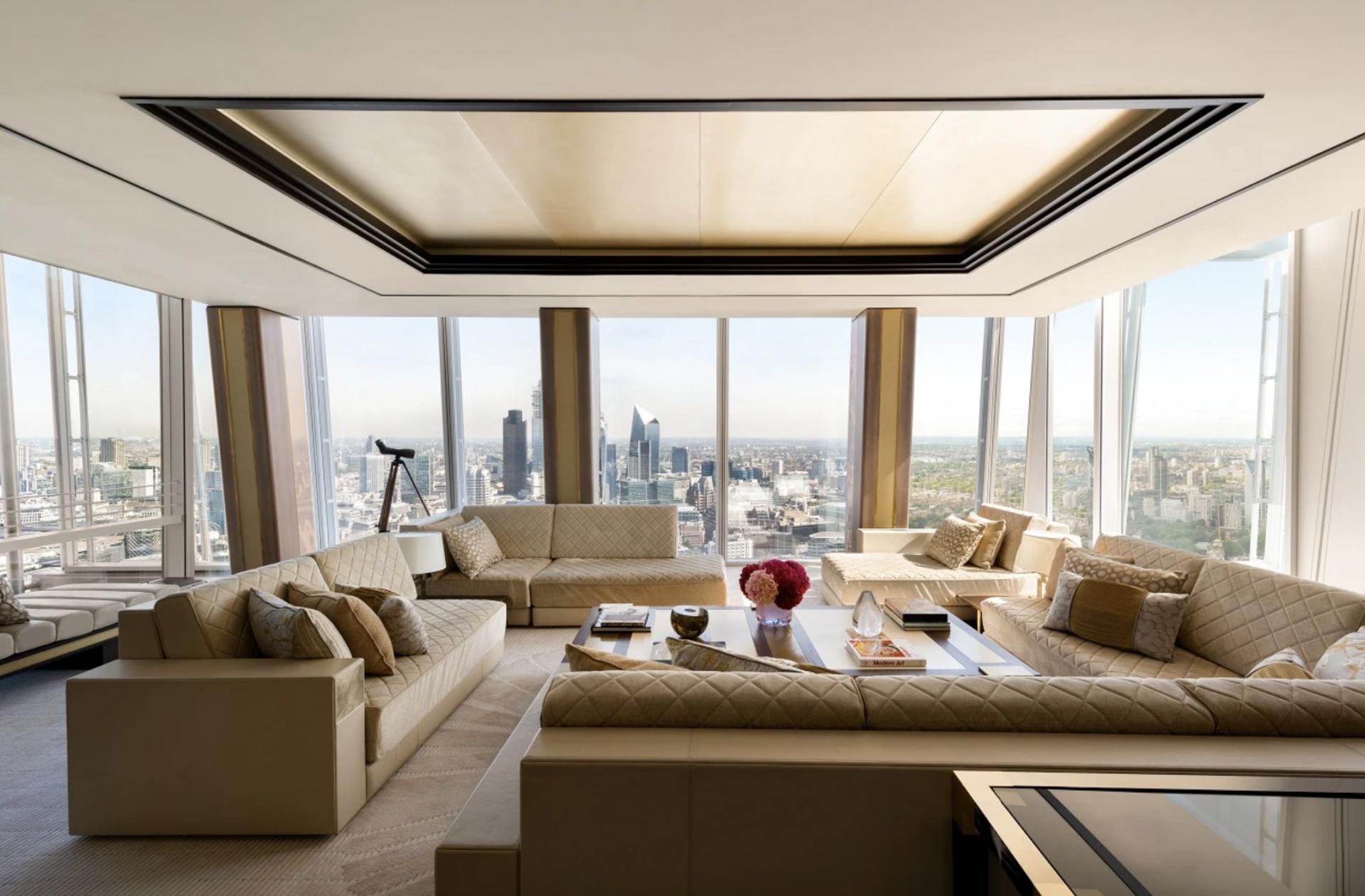 Shangri-La The Shard, London Suite