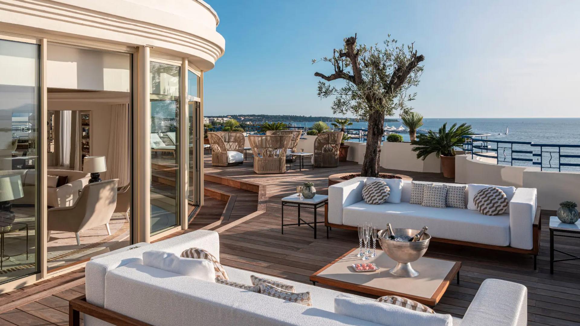 Hotel Martinez Cannes, Penthouse Suite