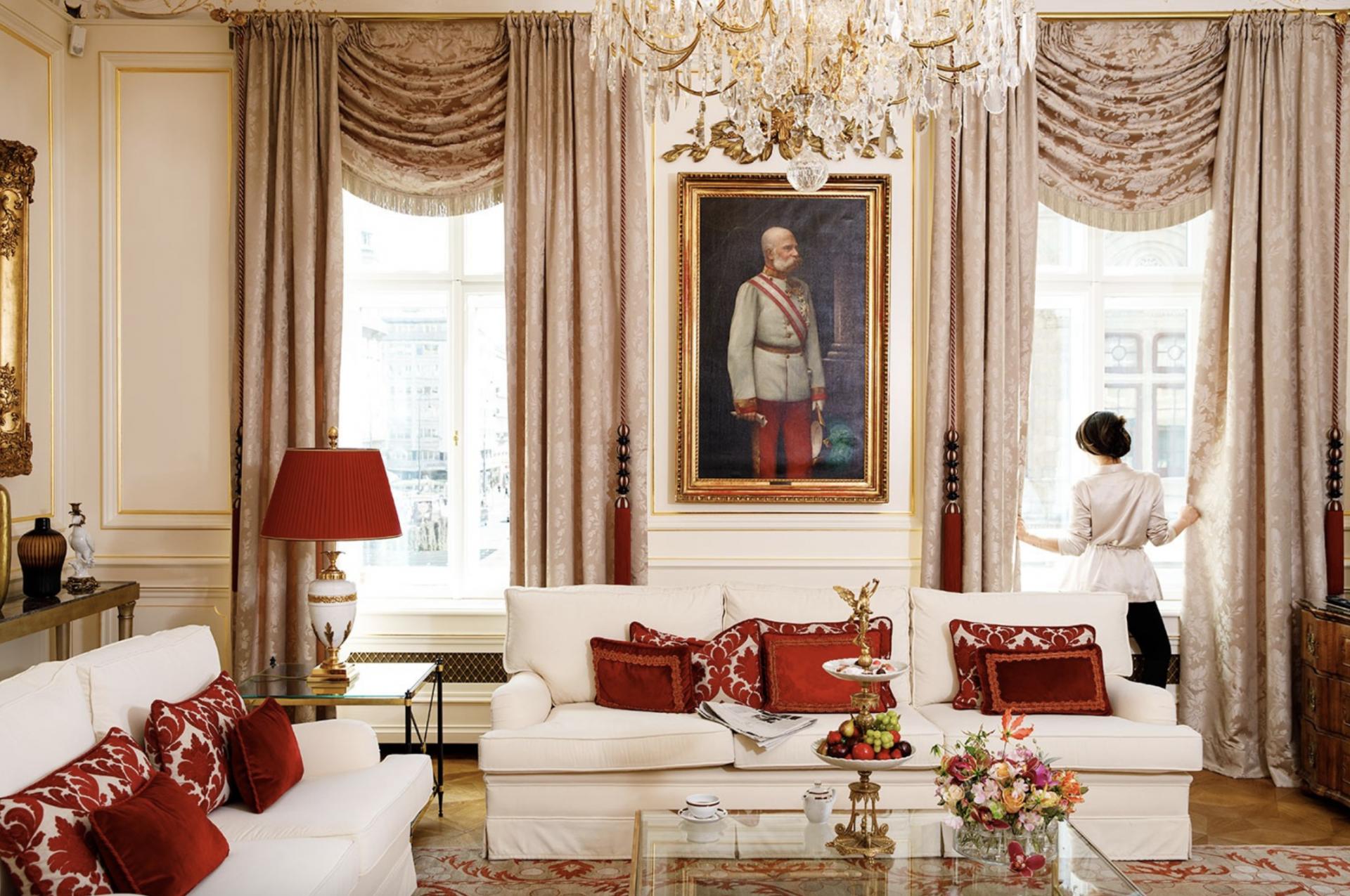 Hotel Sacher Wien Suite Zimmer