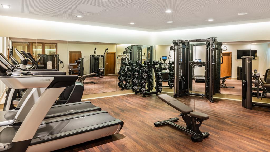 Breidenbacher Hof Duesseldorf Fitnesscenter