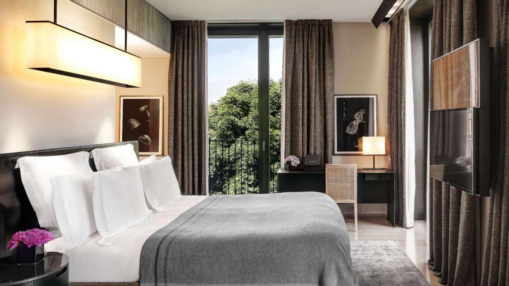 Marriott Bonvoy Bulgari Hotel Mailand Zimmer