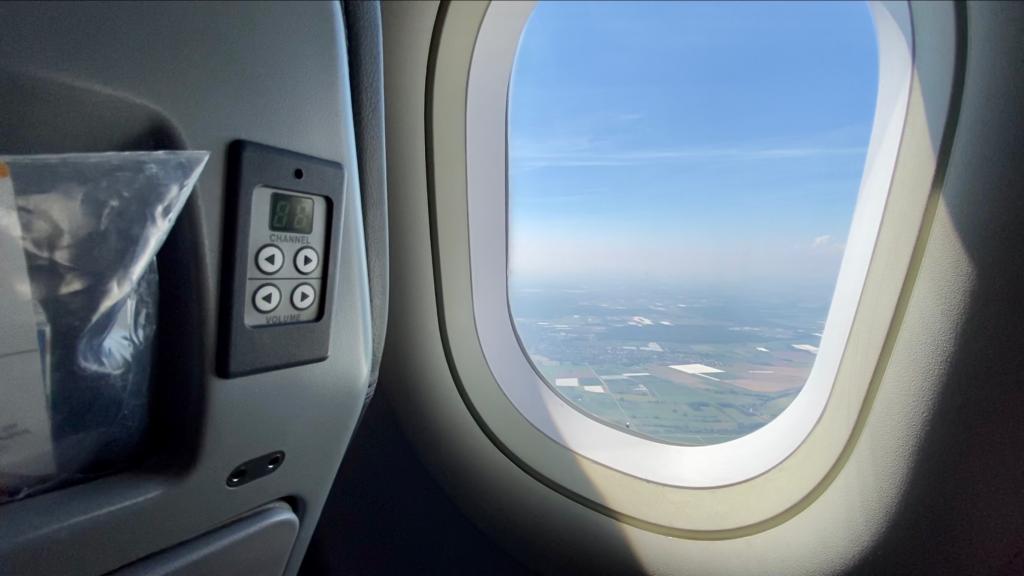 Condor Airbus A320 Business Class Annehmlichkeiten 6