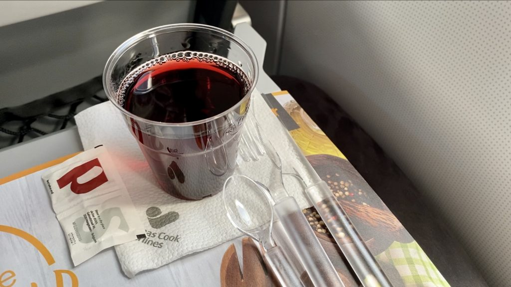 Condor Airbus A320 Business Class Catering 3