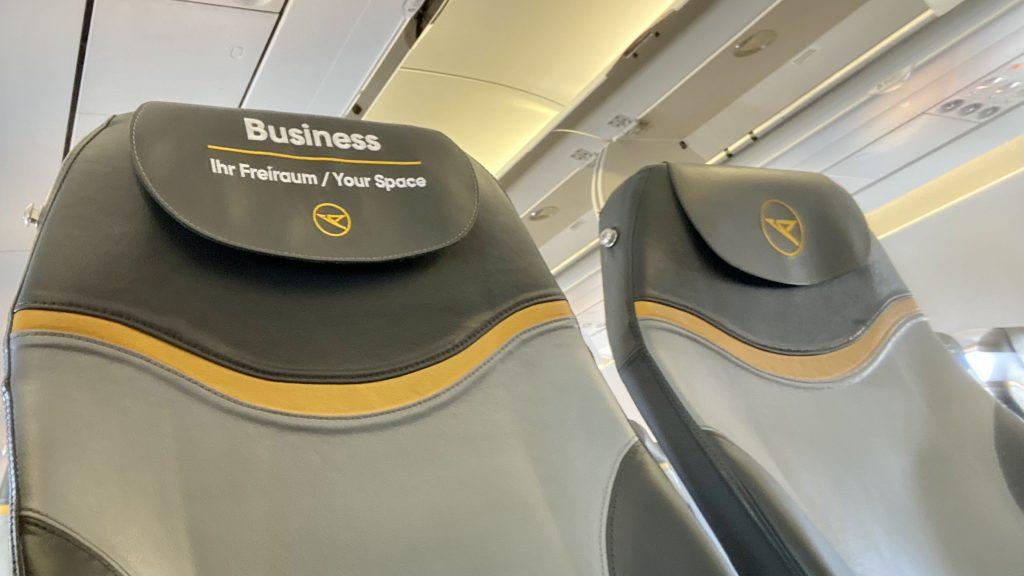Condor Airbus A320 Business Class Sitz